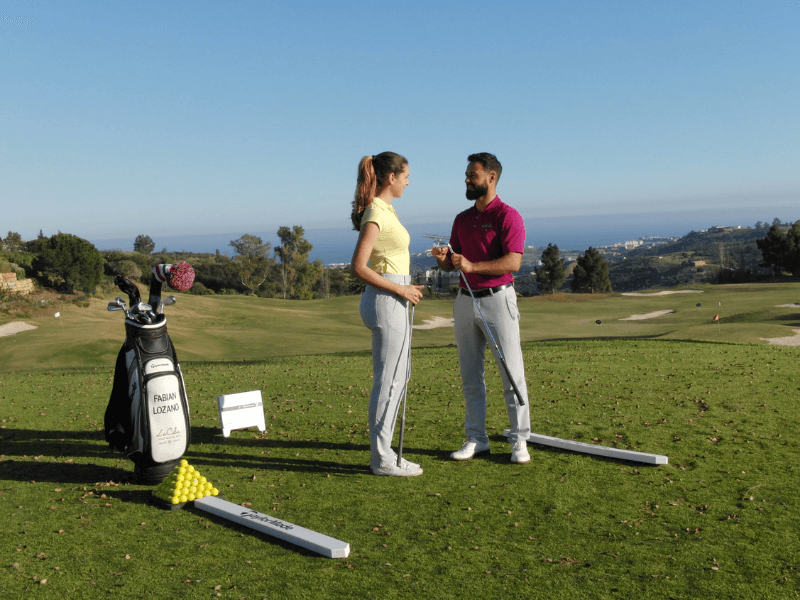 clases personales golf profesional marbella